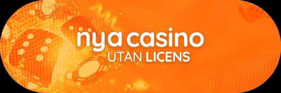 nya casino utan licens logga